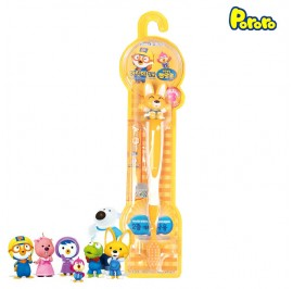 Pororo Tooth Brush For Children Kids (3 Year Over) Cartoon Character Eddy