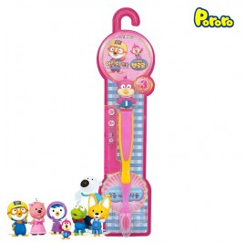 Pororo Tooth Brush For Children Kids (3 Year Over) Cartoon Character Harry