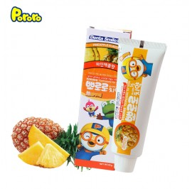 Pororo Dental Smile Kids Toothpaste 90g For Children (3 Year Over) Pineapple Flavor