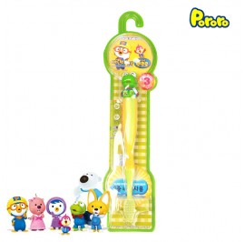 Pororo Tooth Brush For Children Kids (3 Year Over) Cartoon Character Crong