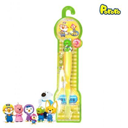 Pororo Tooth Brush For Children Kids (3 Year Over) Cartoon Character Crong