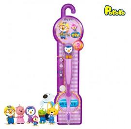 Pororo Tooth Brush For Children Kids (3 Year Over) Cartoon Character Petty