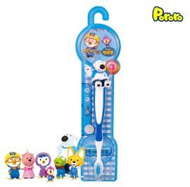 Pororo Tooth Brush For Children Kids (3 Year Over) Cartoon Character Poby