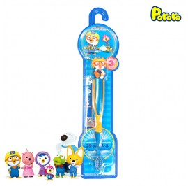 Pororo Tooth Brush For Children Kids (3 Year Over) Cartoon Character Pororo