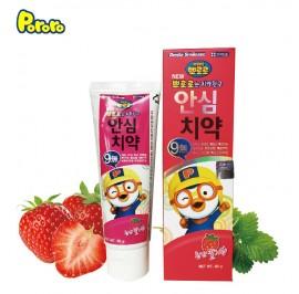 Pororo Ansim Children Toothpaste 80g For Kids (3 Year Over) Strawberry Flavor