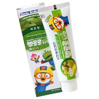 Pororo Dental Smile Kids Toothpaste 90g For Children (3 Year Over) Melon Flavor