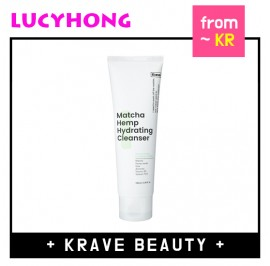 [KRAVE BEAUTY] Matcha Hemp Hydrating Cleanser 120ml / LIAH YOO