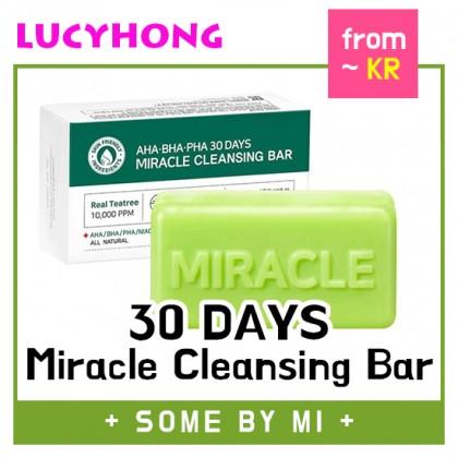 [SOMEBYMI] AHA BHA PHA 30 Days Miracle Cleansing Bar 80g