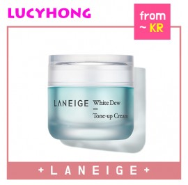 [LANEIGE] White Dew Tone Up Cream (With Tone Up Puff) 50ml