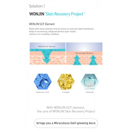[WONJIN EFFECT] Baby Glow Cream 45ml