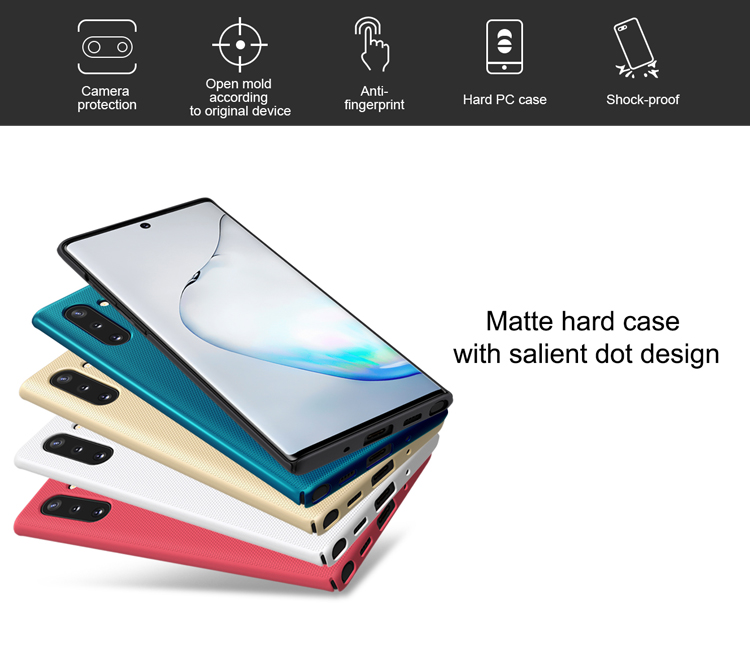 Samsung Galaxy Note 10/Note 10 5G Nillkin Super Frosted Shield (Hard C